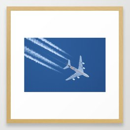 Airbus A380 Etihad Airways, 12200m Framed Art Print