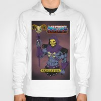 skeletor Hoodies featuring Skeletor by W. Keith Patrick
