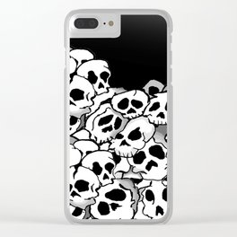 Bunches of Skulls Clear iPhone Case