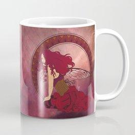 Autumn Fairy Nouveau Coffee Mug