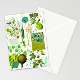 Green Botanical by Pam Smilow Stationery Cards