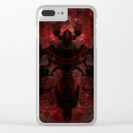 The moth Clear iPhone Case