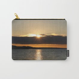 Sunset over the Olympics Carry-All Pouch