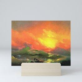 12,000pixel-500dpi - Ivan Aivazovsky - The Ninth Wave - Digital Remastered Edition Mini Art Print