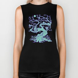 All the Creatures of the Forest Biker Tank