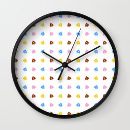 Easter bell 7 Wall Clock