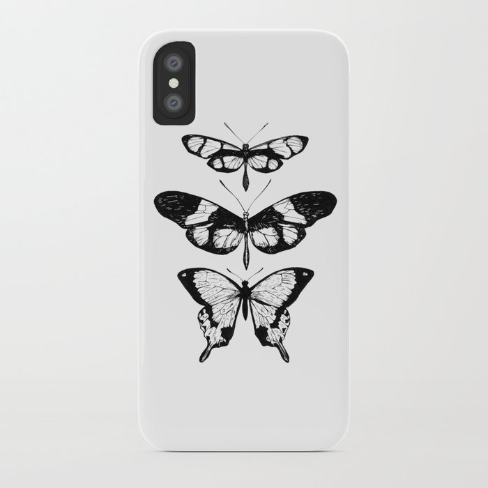 Butterfly Trio iPhone Case