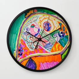 Pop Up Art Wall Clock