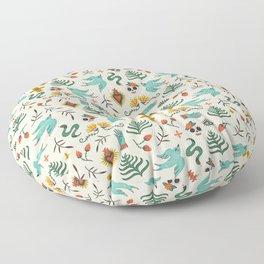 Mexican Folk Art Floor Pillow