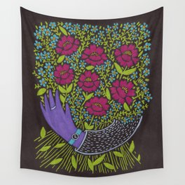 I Picked You These Flowers Wall Tapestry