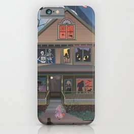 Halloween Trick Or Treating iPhone Case