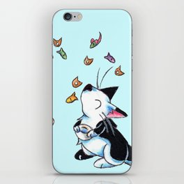 Caturday Morning Cereal iPhone Skin