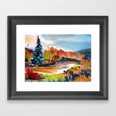 Autumn Color Framed Art Print