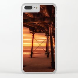 Under the Board Walk Clear iPhone Case