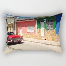 Cars in Cuba Rectangular Pillow