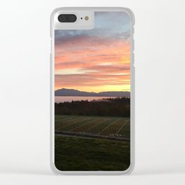 Good Morning Grizzlies Clear iPhone Case
