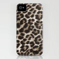 Snow Leopard iPhone (4, 4s) Slim Case