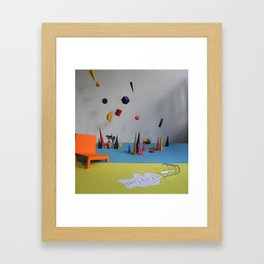 This is tomorrow#1 untitled Framed Art Print