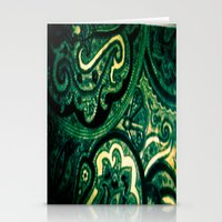 paisley Stationery Cards featuring Paisley by Kim Ramage