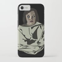 abigail larson iPhone & iPod Cases featuring Abigail by biancahatesyou