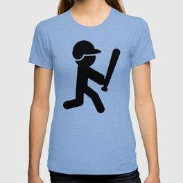 Baseball Stickman T-shirt