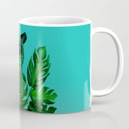 Cute Lemur Watercolor Coffee Mug