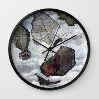ship Wall Clocks featuring Ship by Andreas Derebucha