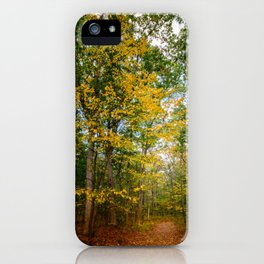 October Forest (2) iPhone Case