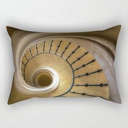 Golden spiral staircase Rectangular Pillow