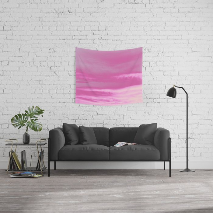 Pink Summer Vibes #1 #decor #art #society6 Wall Tapestry
