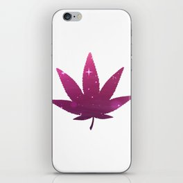 Awesome Cannabis Tee For High People Pot Medical Weed T-shirt Design Marijuana Medication Legalized iPhone Skin