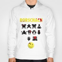 rorschach Hoodies featuring Rorschach by Gabriel Freire