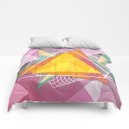 Tangled triangles Comforters