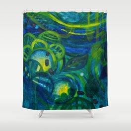 Blue Period Shower Curtain