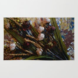 Sweetheart Roses, Contemporary Art, Floral Art Rug