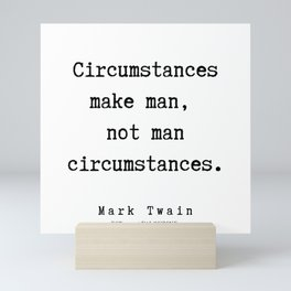54    Mark Twain Quotes   190730 Mini Art Print