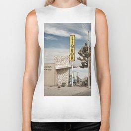 Liquor Store Yucca Valley Biker Tank