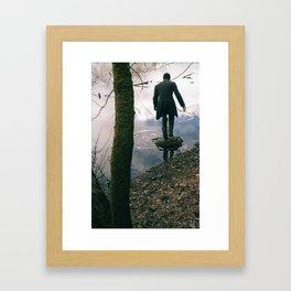 Moss and Magician Framed Art Print