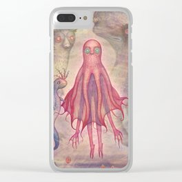 Spawning in the Great Abyss of Nereus Clear iPhone Case