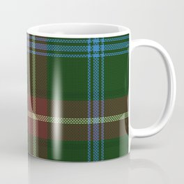 Tartan Of Manitoba Coffee Mug
