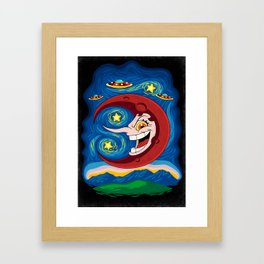 Hilda Berg - Starry Night Framed Art Print