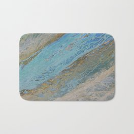 Sand and foam Bath Mat