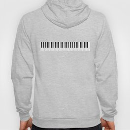 Piano / Keyboard Keys Hoody