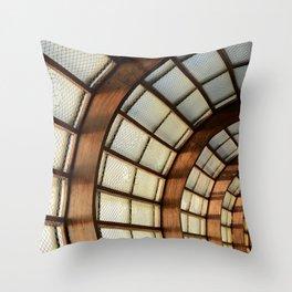 Wooden Beams Throw Pillow