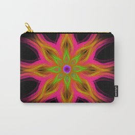 Glowing Mandala Carry-All Pouch