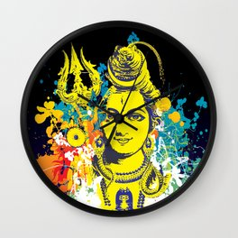 Shiv Fusion: The Resonance of Bliss – Portal to Higher Dimensions Wall Clock