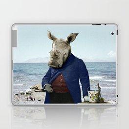 Mr. Rhino's Day at the Beach Laptop & iPad Skin