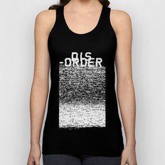 Dis-order (Inverted) Unisex Tank Top
