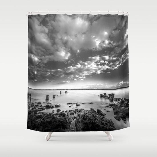 Docklands Shower Curtain