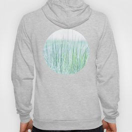 Field of grass in a fresh spring morning Hoody